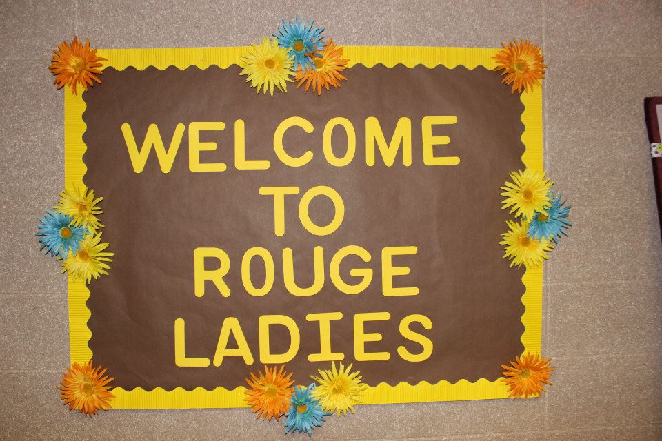 Welcome from Rouge Ladies